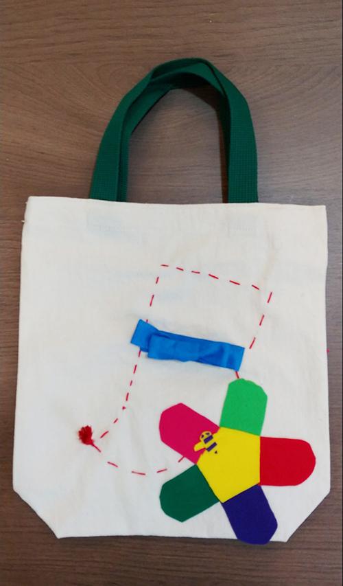 어린이가 만든 가방